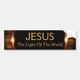 Jesus, das Licht der Welt Autoaufkleber