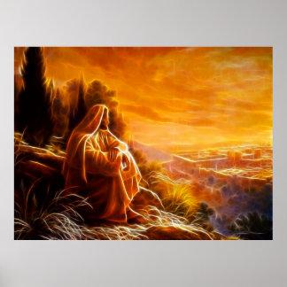 Jesus, der an Leute (Sie, denkt) Poster