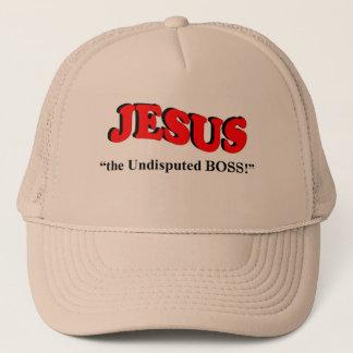"""JESUS - """"der unbestrittene CHEF!"""" Truckerkappe"""