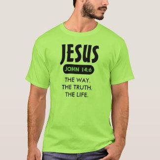 Jesus - die Weise. Die Wahrheit. Das Leben. T - T-Shirt