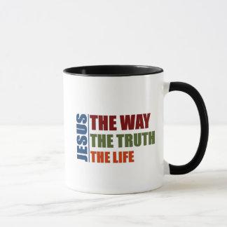 Jesus die Weise, die Wahrheit, das Leben Tasse