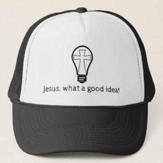 Jesus. Eine was für gute Idee! Truckerkappe