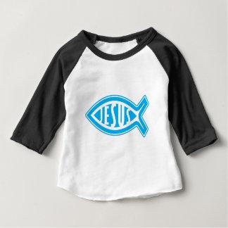 Jesus-Fische Baby T-shirt