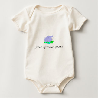 Jesus gibt mir Frieden Baby Strampler