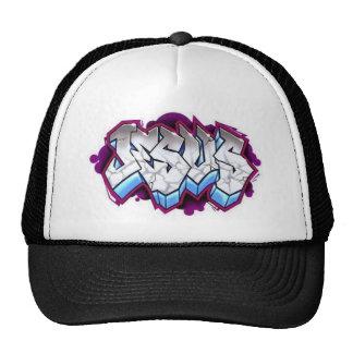 Jesus-Graffiti Baseballcap