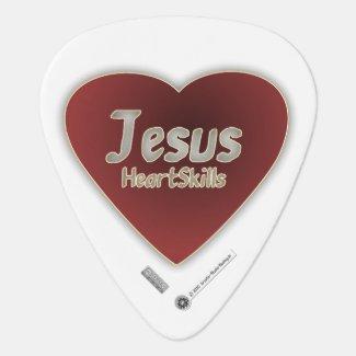 Jesus HeartSkills - lebendige Herzform - Plektrum