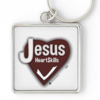 Jesus HeartSkills - Schlüssel zum glücklichen Herz Schlüsselanhänger