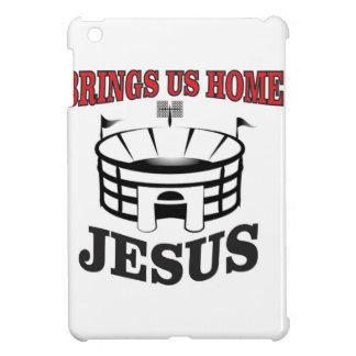 Jesus holt uns Zuhause iPad Mini Hülle