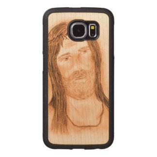 Jesus im Licht Handyhülle Aus Holz