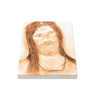 Jesus im Licht Leinwanddruck
