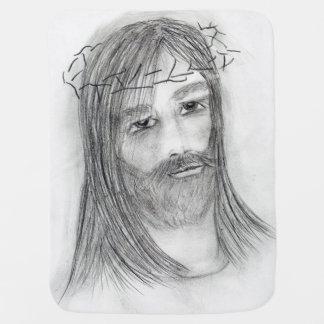 Jesus in der Qual Babydecke