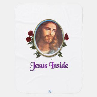 Jesus innerhalb der christlichen Produkte Babydecke