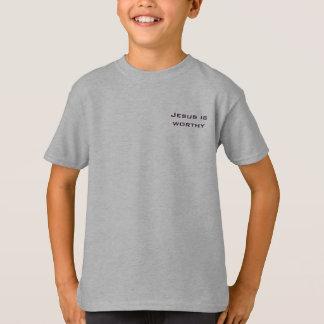 Jesus ist angemessenes Rev-5:12 T-Shirt