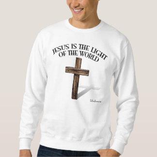 JESUS IST DAS LICHT DER WELT SWEATSHIRT