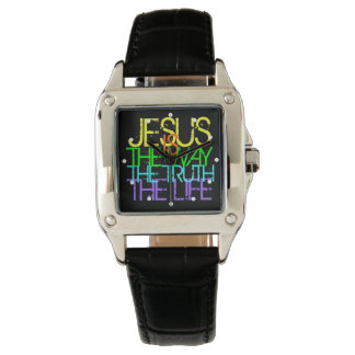 Jesus ist die Weise, christliche Frauen Armbanduhr