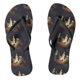 Jesus ist geboren flip flops