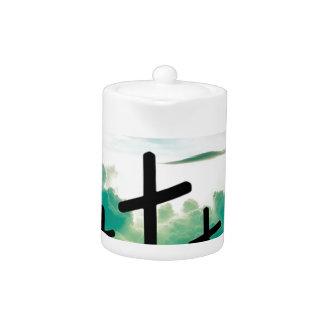 Jesus ist gestiegen (drei Kreuze)