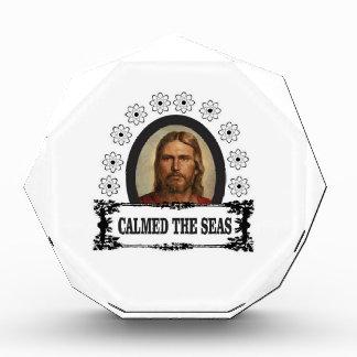 Jesus ist König Acryl Auszeichnung
