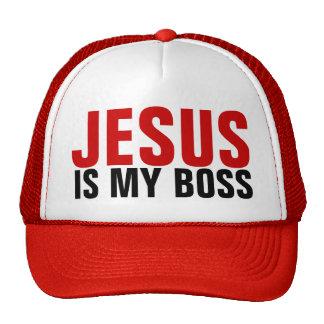 Jesus ist mein Chef-Fernlastfahrer-Hut Trucker Mütze