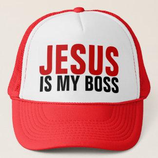 Jesus ist mein Chef-Fernlastfahrer-Hut Truckerkappe