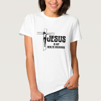 Jesus ist meine Krankenversicherung T-Shirts