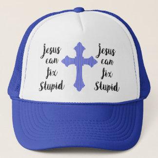 Jesus kann dummes regeln truckerkappe