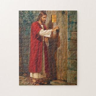 Jesus klopft auf der Tür Puzzles