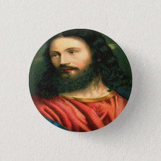 Jesus-Knopf Runder Button 3,2 Cm