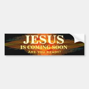 Jesus Kommt Bald Autoaufkleber