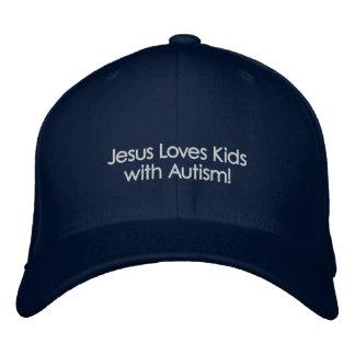 Jesus-Liebe-Kinder mit Autismus! Bestickte Baseballkappe