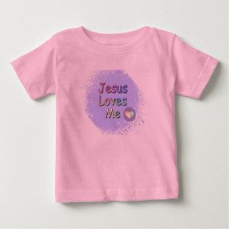 Jesus-Lieben ich Baby T-shirt