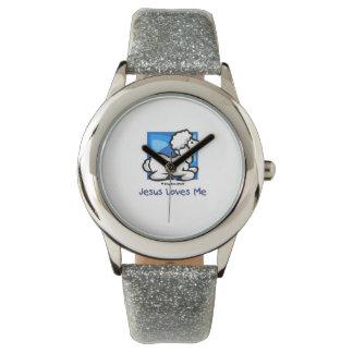 Jesus-Lieben ich Lamm Armbanduhr