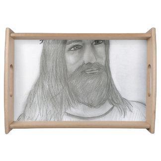 Jesus-Lieben ich Tablett