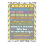 Jesus-Lieben ich Taufe-/Taufeinladung Ankündigung