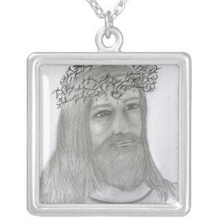 Jesus-Lieben ich Versilberte Kette