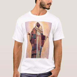 Jesus-Mantel vieler Farben T-Shirt
