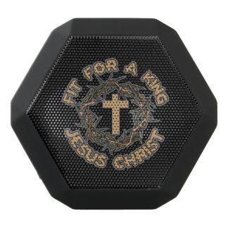 Jesus passte für einen König Schwarze Bluetooth Lautsprecher