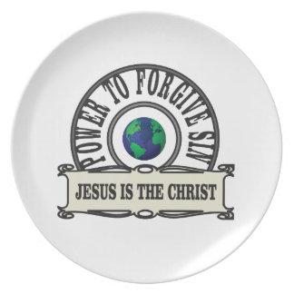 Jesus-Power verzeihen Sünde in der Welt Teller