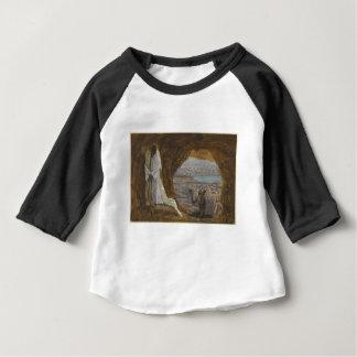 Jesus reizte in der Wildnis Baby T-shirt