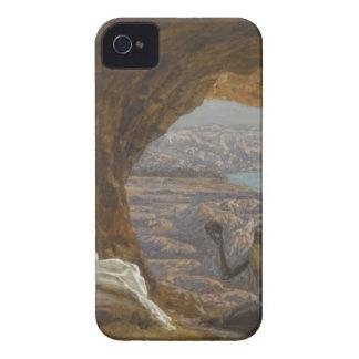 Jesus reizte in der Wildnis iPhone 4 Case-Mate Hüllen