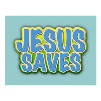 Jesus rettet postkarte