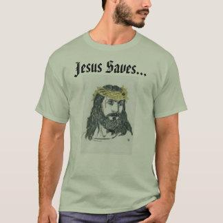 Jesus rettet… T-Shirt