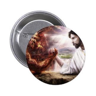 Jesus Runder Button 5,7 Cm