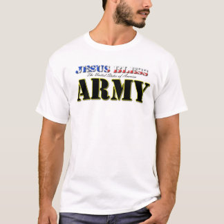Jesus segnen Amerikas Armee T-Shirt