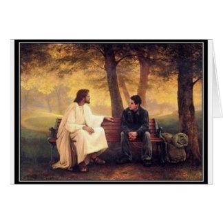 Jesus-Sorgfalt für mich Karte
