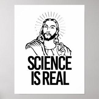Jesus stimmt - Wissenschaft ist wirklich - - Poster