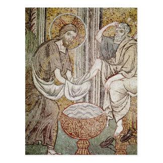 Jesus und St Peter Postkarten
