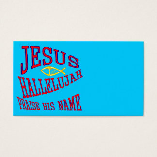 Jesus Visitenkarte