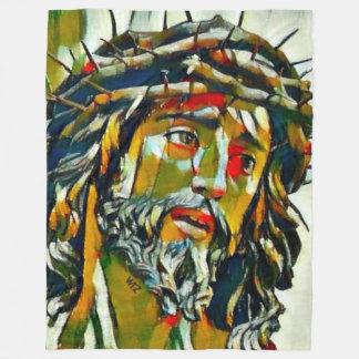 Jesus von Nazaret-Öl Fleecedecke