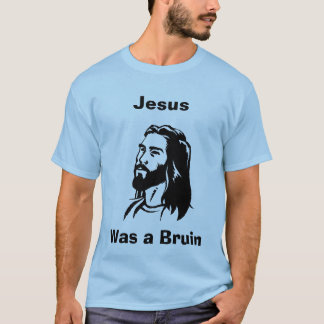 Jesus war ein Blau Bruins Jersey T-Shirt